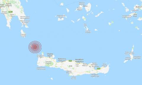 Σεισμός κοντά στα Αντικύθηρα (pic)