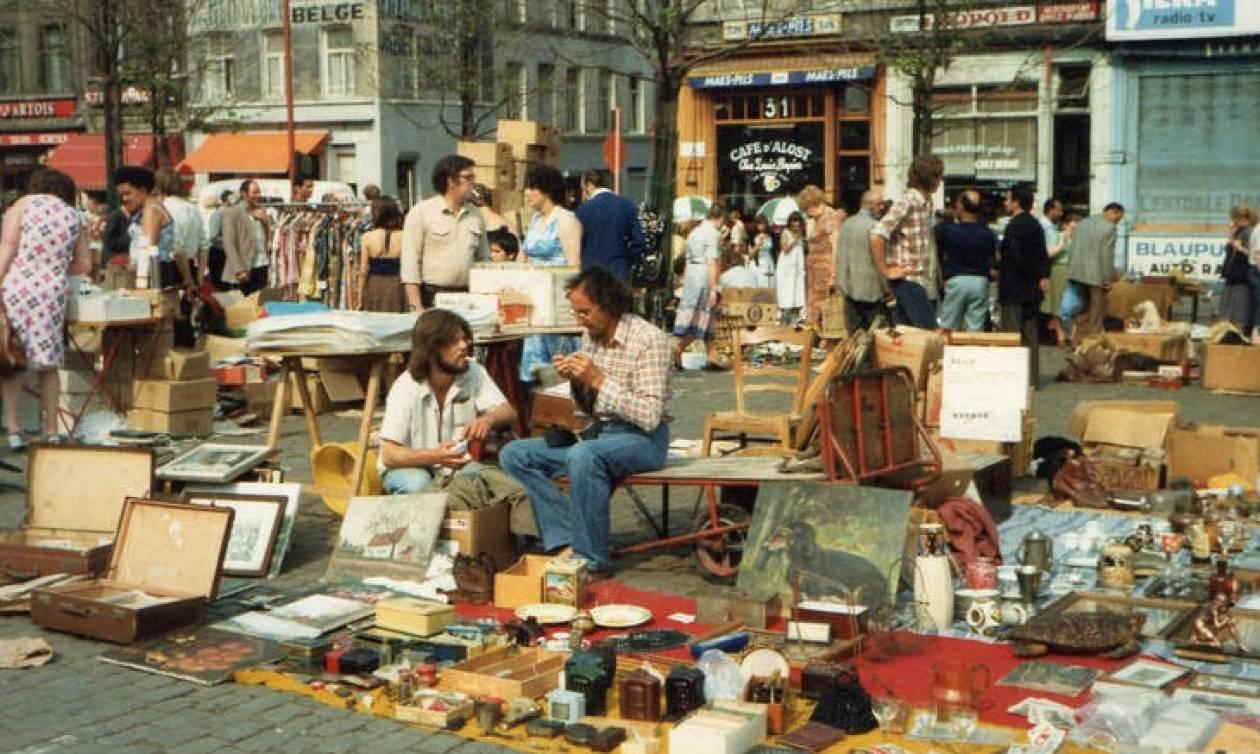 Βόλτα στις υπαίθριες αγορές των Βρυξελλών