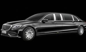 H Maybach S 650 Pullman των 6,50 μέτρων είναι η πιο πολυτελής διαθέσιμη Mercedes