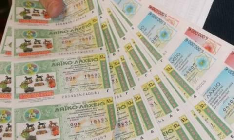 Λαϊκό Λαχείο: Κληρώνει 6,2 εκατομμύρια ευρώ!