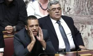 «Μαλλιά - κουβάρια» έγιναν στη Βουλή Χριστοδουλοπούλου και Κασιδιάρης
