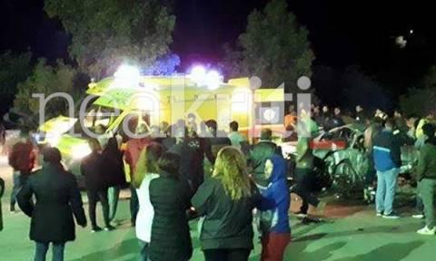 Πολύνεκρο τροχαίο στο Ηράκλειο: Καρέ - καρέ ο απεγκλωβισμός των θυμάτων (ΠΡΟΣΟΧΗ ΣΚΛΗΡΕΣ ΕΙΚΟΝΕΣ)