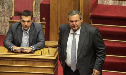 PM's meeting with Defence Minister Kammenos set for 17:00 on Tuesday