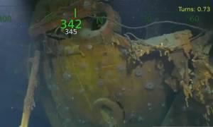 Ο Πολ Άλεν εντόπισε το ναυάγιο ακόμη ενός θρυλικού πολεμικού πλοίου των ΗΠΑ