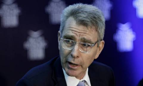 US 'very supportive' of Tsipras government's approach on issue of two Greek soldiers, Pyatt says
