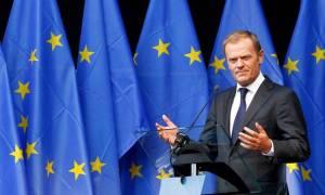 Τουσκ: Η απάντηση της ΕΕ στους αμερικανικούς δασμούς θα είναι «λογική»