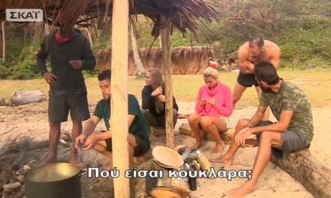 Survivor 2: Παλαίστρος Χάρος: Το επίμονο φλερτ στη Σπυροπούλου και η αντίδραση της παρουσιάστριας