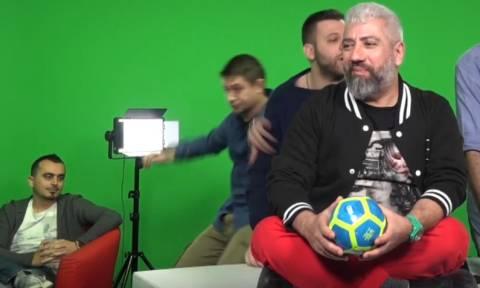 ΕΠΙΚΟ ΒΙΝΤΕΟ: Έλληνας δημοσιογράφος τρώει τούμπα μπροστά στην κάμερα!