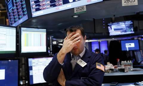 Με μεγάλη πτώση έκλεισε η Wall Street