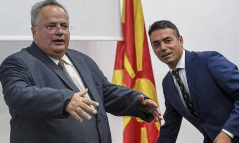 Kotzias, Dimitrov say name talks are moving forward