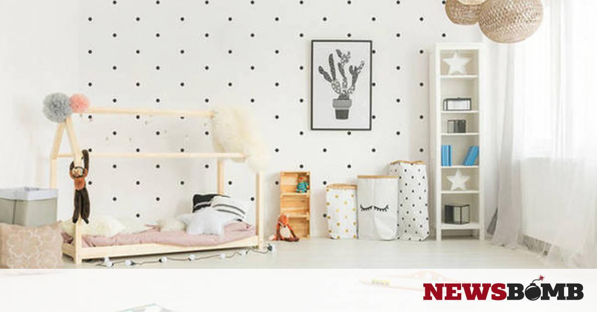 55f285ea18b Δεκαπέντε μοντέρνες ιδέες για παιδικά δωμάτια που θα κάνουν τη διαφορά  (pics)