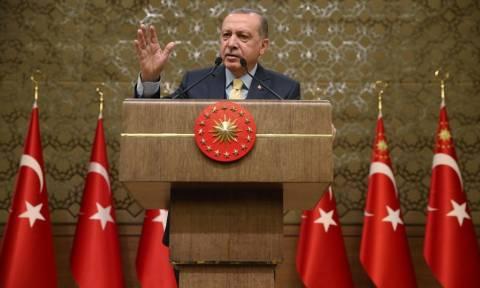 Ανυποχώρητος ο Ερντογάν: Ούτε βήμα πίσω για την κυπριακή ΑΟΖ