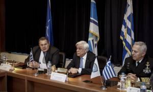 Ηχηρό μήνυμα Παυλόπουλου: Η Ελλάδα υπερασπίζεται τα σύνορά της και την Ευρώπη (pics)