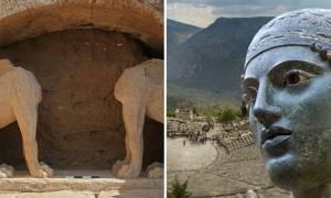 Αμφίπολη: Το «μυστικό» του τύμβου – Πώς οδηγεί στους Δελφούς και την Πυθία