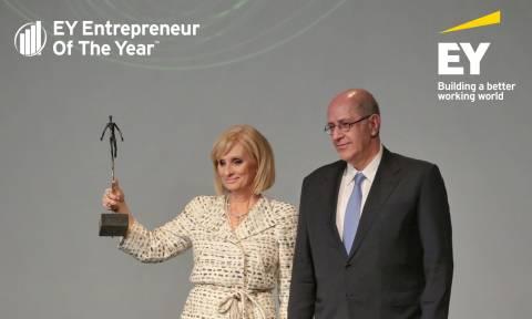 Η Καλλιόπη Ροδοπούλου «Δυναμικά Αναπτυσσόμενος Επιχειρηματίας» της χρονιάς από την ERNST & YOUNG