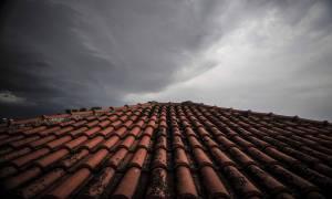 Κρήτη: Από την αφρικανική σκόνη στις... καταιγίδες - Δείτε το εντυπωσιακό βίντεο