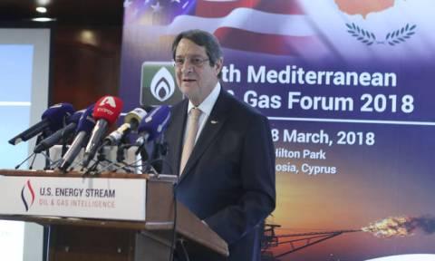 Αναστασιάδης: «Θα εξαντλήσουμε όλα τα μέσα αν η Τουρκία χρησιμοποιήσει γεωτρύπανο στην κυπριακή ΑΟΖ»