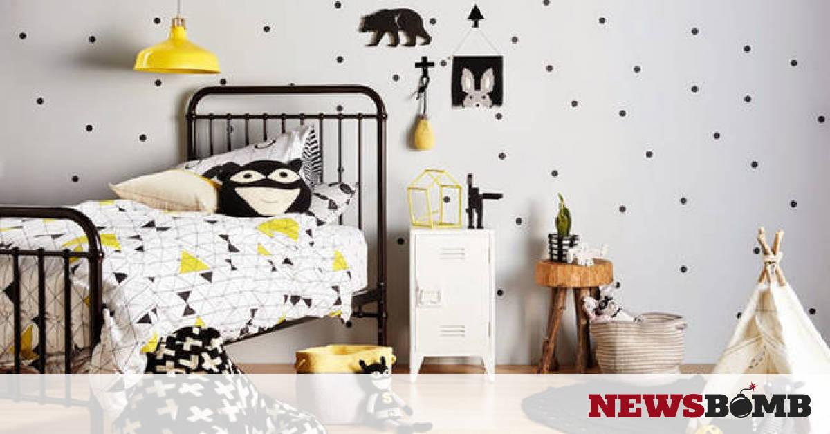 62717aa4662 Διακοσμήστε το παιδικό δωμάτιο με όμορφα αυτοκόλλητα τοίχου (pics)