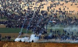Με αίμα βάφτηκε η Γάζα: 15 Παλαιστίνιοι νεκροί από ισραηλινά πυρά – Ανελέητες συγκρούσεις και χάος