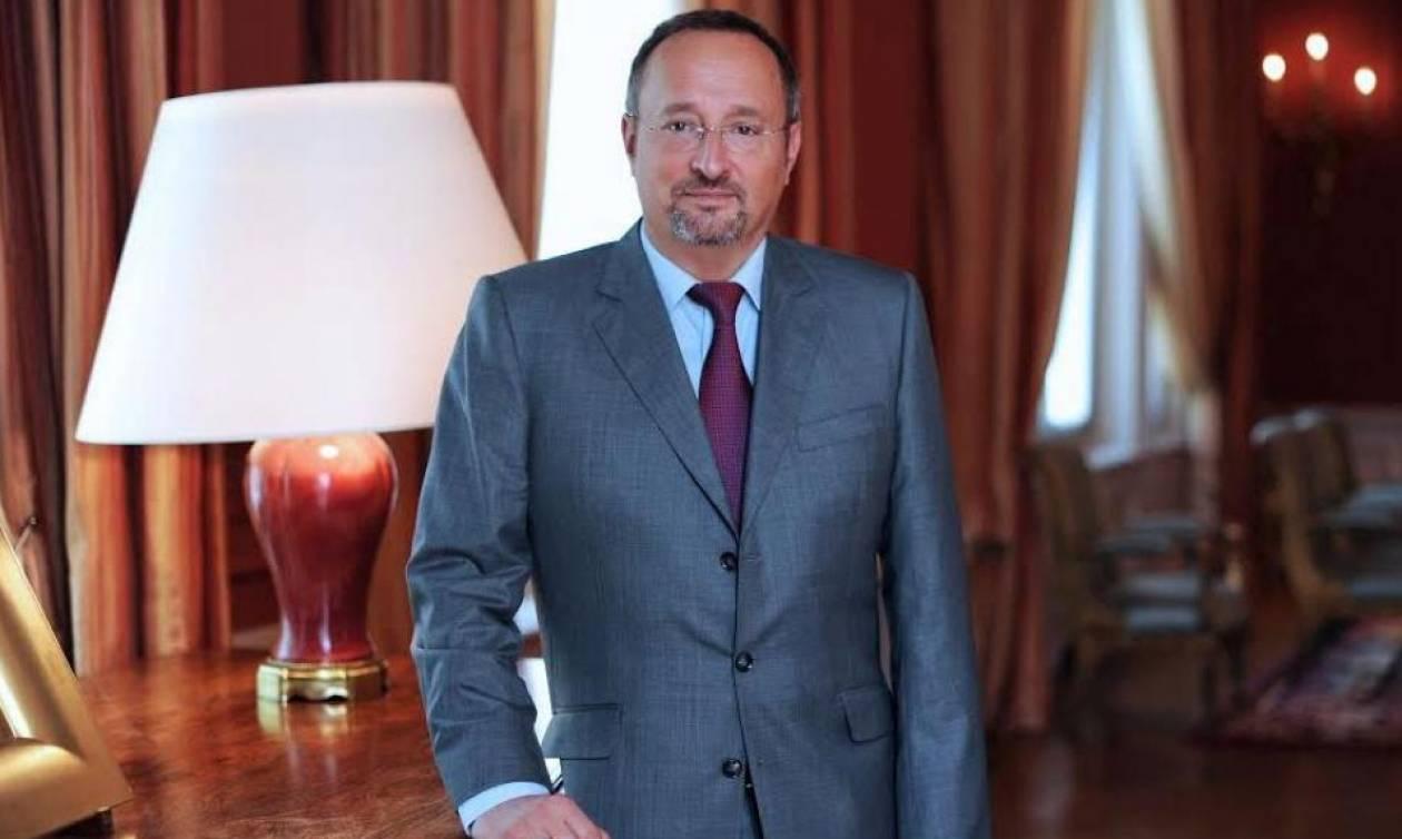 Γάλλος πρέσβης: Πρέπει να μπει ένα τέλος στην τουρκική προκλητικότητα (vid)