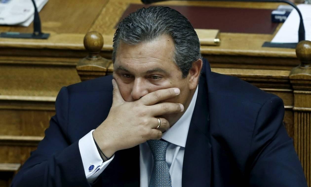 Χαμός με τον Καμμένο - ΝΔ: Ανάξιος για υπουργός Άμυνας – Φώφη: Να πάρει θέση ο Τσίπρας