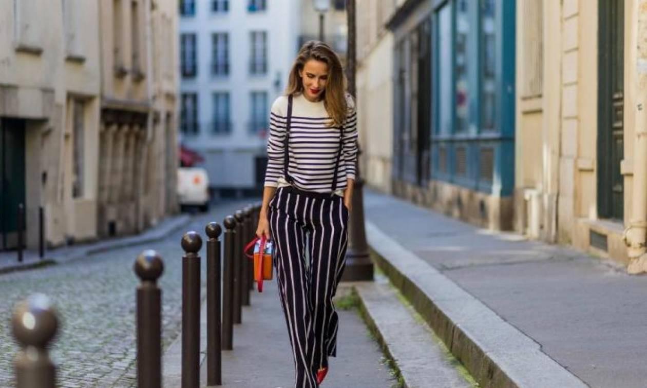 It's all about stripes: Πώς να φορέσεις τις ρίγες για να δείχνεις ψηλότερη