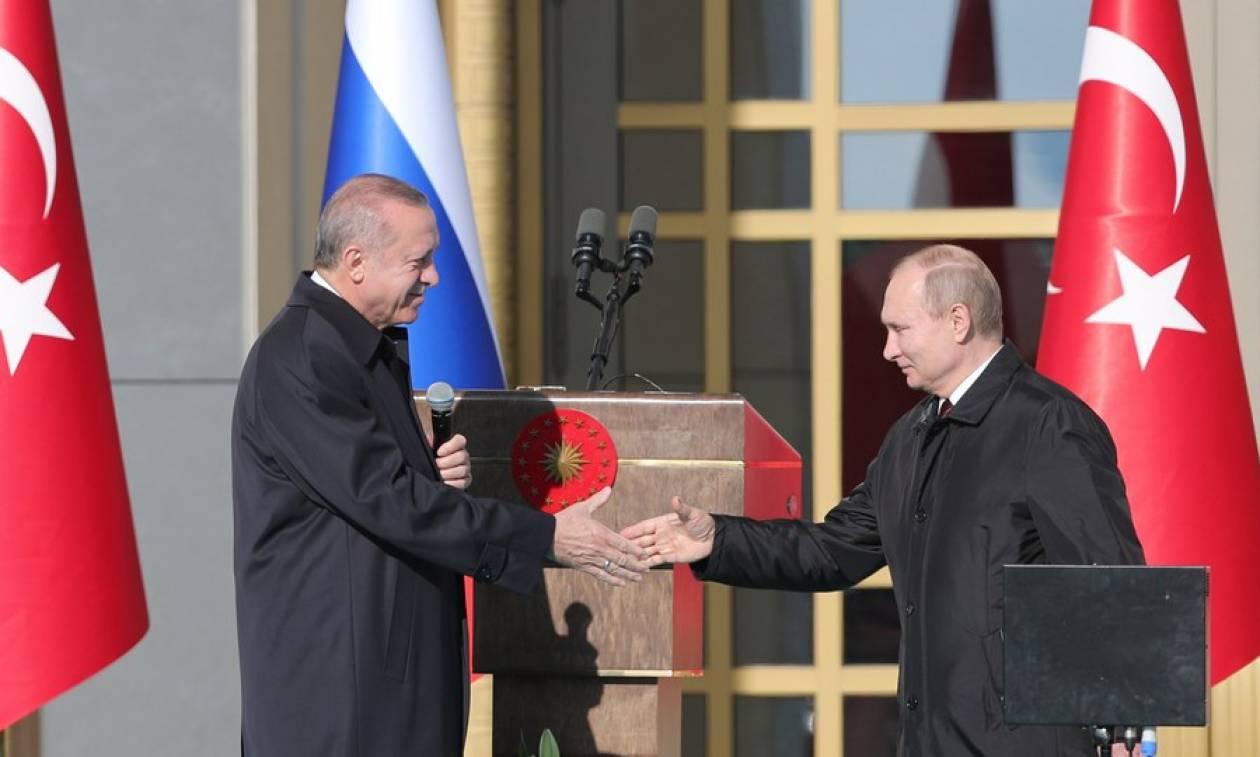 Πούτιν: Ευγνωμονώ την Τουρκία για την επένδυση στο Άκουγιου