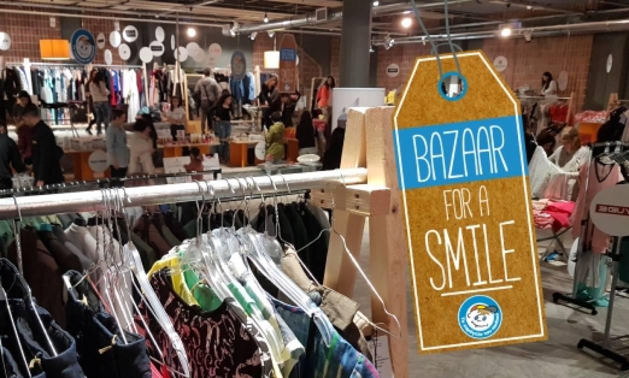 """Περισσότεροι από 2.000 επισκέπτες στο """"Bazaar For A Smile"""" που διοργάνωσε «Το Χαμόγελο του Παιδιού»"""