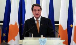 Αναστασιάδης: Κύπρος και Ελλάδα στέλνουν μήνυμα ειρήνης και σεβασμού του διεθνούς δικαίου