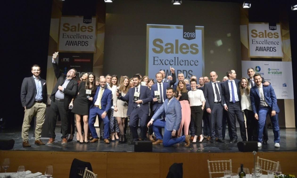 Σάρωσε ο ΟΠΑΠ με επτά σημαντικές διακρίσεις τα Sales Excellence Awards 2018