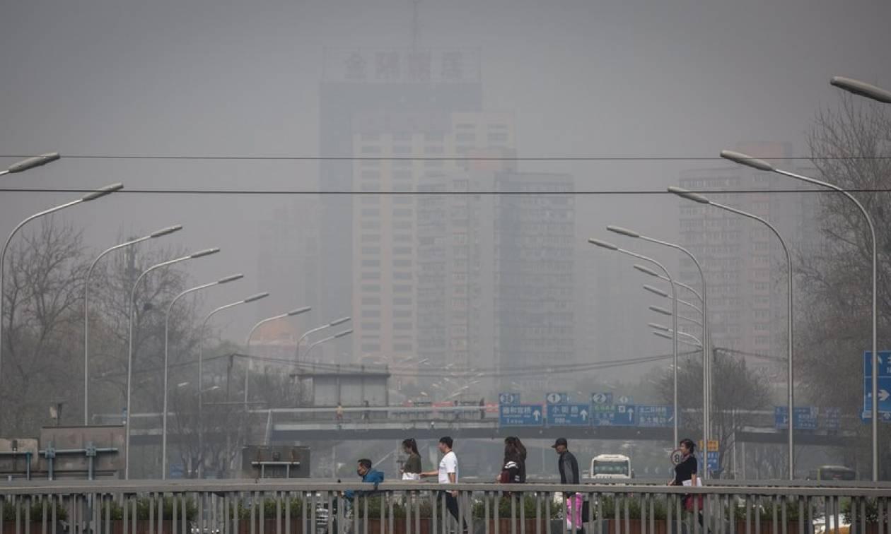 Σε μπλε συναγερμό το Πεκίνο: Προειδοποίηση για σφοδρή χιονοθύελλα