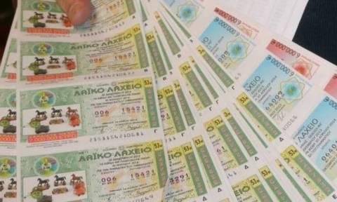 Κέρδη - ρεκόρ άνω των 9,3 εκατ. ευρώ μοίρασε το Λαϊκό Λαχείο το Μάρτιο