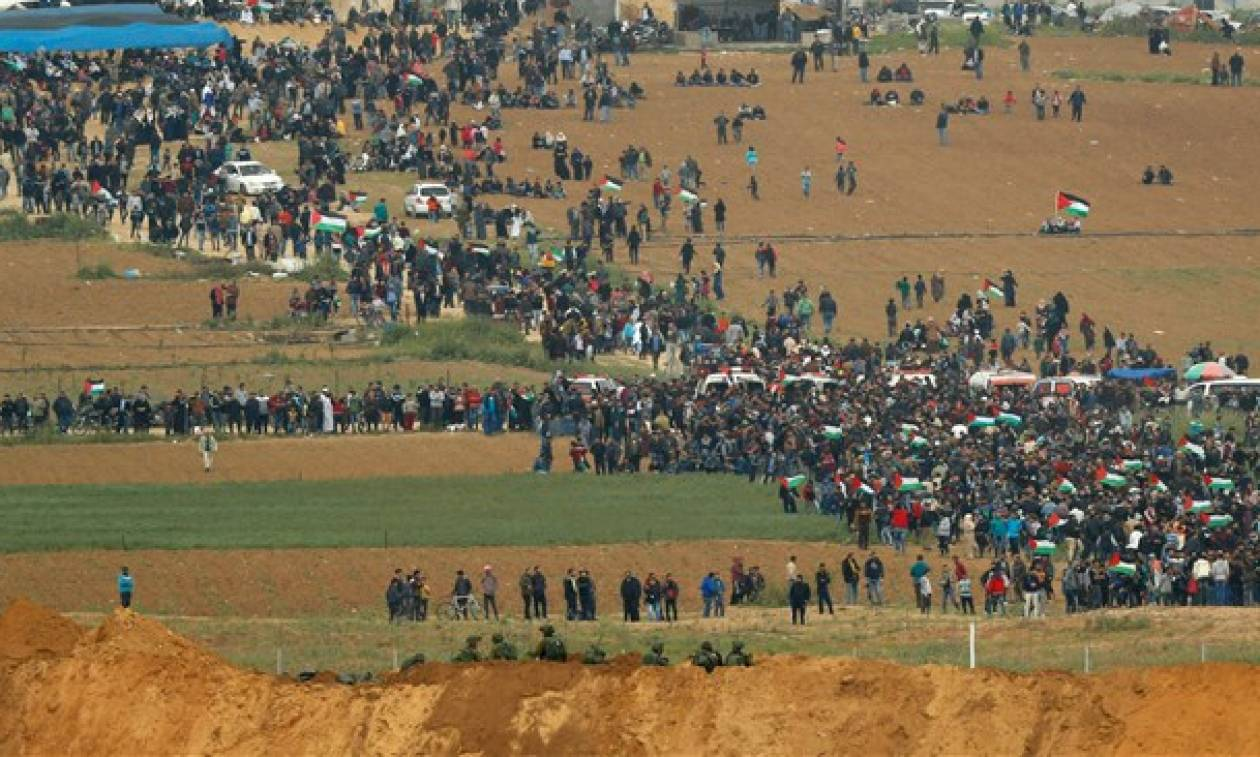Γάζα: Στους 20 οι νεκροί Παλαιστίνιοι – Διαταγή στους ισραηλινούς στρατιώτες να ανοίξουν εκ νέου πυρ