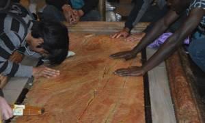 Αγία Αποκαθήλωση: Ο τόπος που δέχθηκε το Άχραντο σώμα του Ιησού μετά την Σταύρωση (photos)
