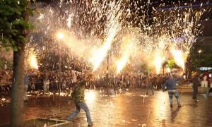 Πάσχα 2018: Εντυπωσιακό θέαμα πρόσφεραν οι χαλκουνάδες του Αγρινίου (pics&vids)