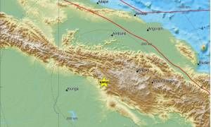Ισχυρός σεισμός 6,5 Ρίχτερ στην Παπούα Νέα Γουινέα