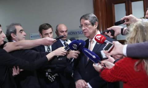 Αναστασιάδης: Στόχος δεν είναι η συνέχιση του απαράδεκτου status quo στην Κύπρο