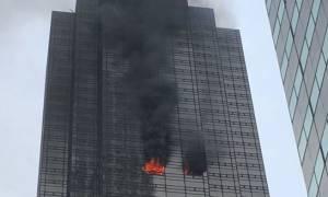 ΗΠΑ: Πυρκαγιά στον Πύργο Τραμπ στη Νέα Υόρκη