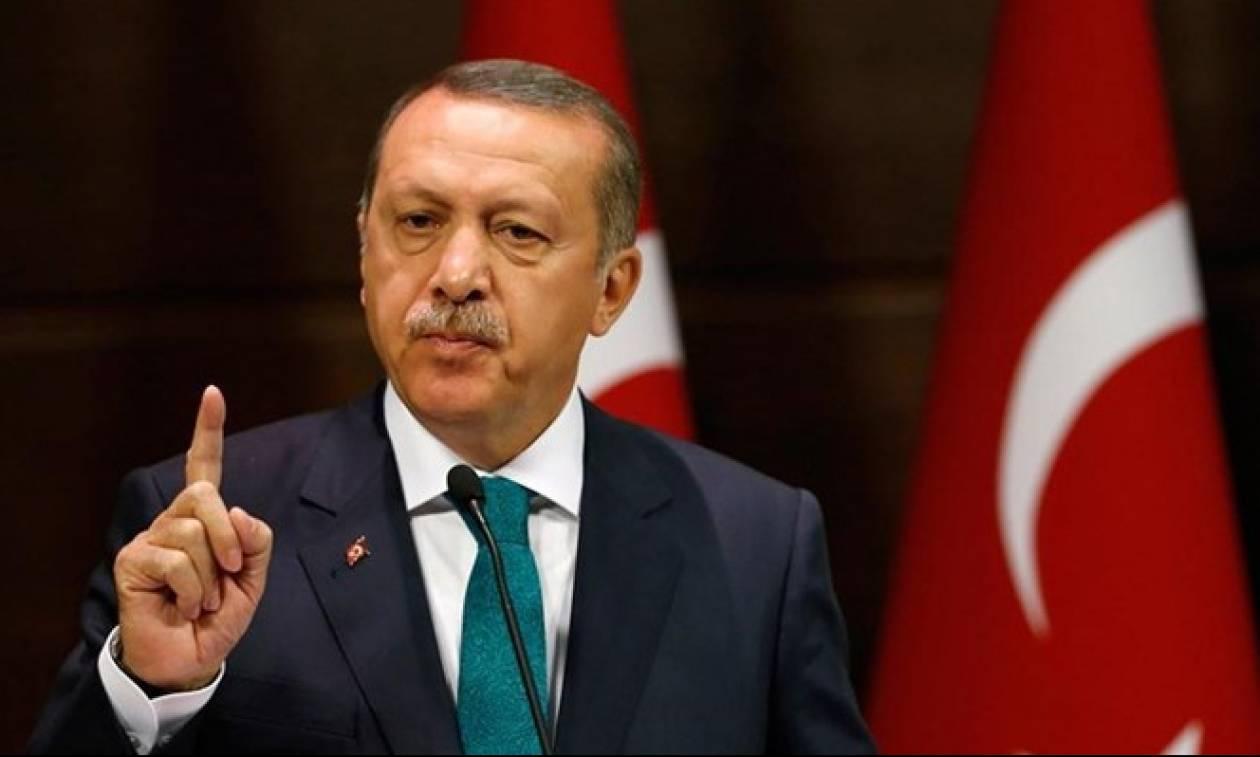 Νέα επίθεση Ερντογάν στη Δύση: Στο διάολο όσοι μιλούν σαν τους τρομοκράτες