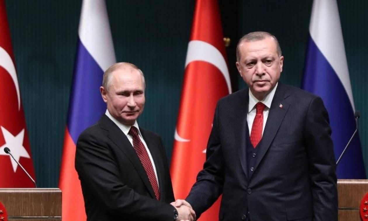 Η Συρία στο επίκεντρο της επικοινωνίας Πούτιν-Ερντογάν