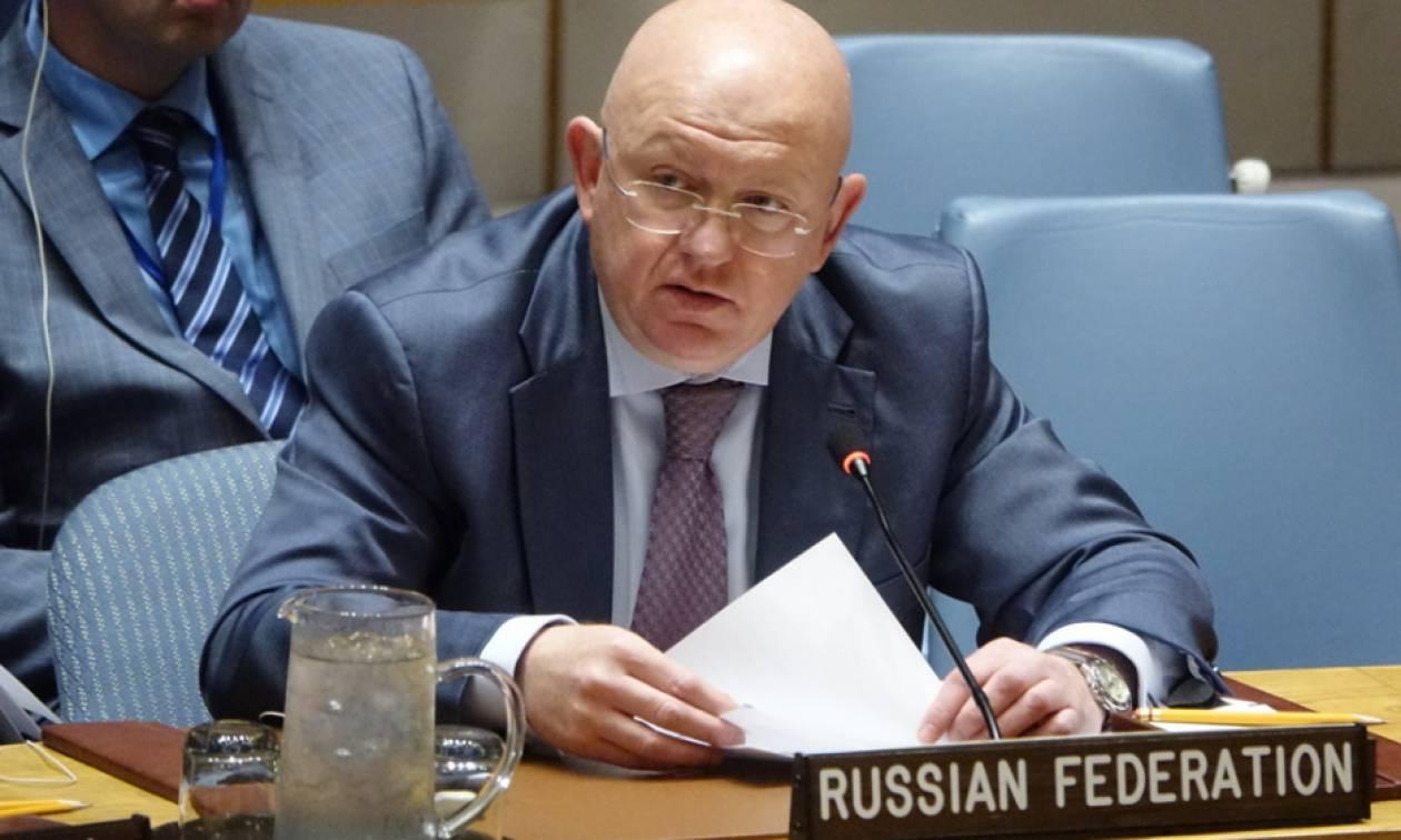 Ρωσία: Απαράδεκτα στοιχεία στο αμερικανικό σχέδιο απόφασης του ΣΑ του ΟΗΕ