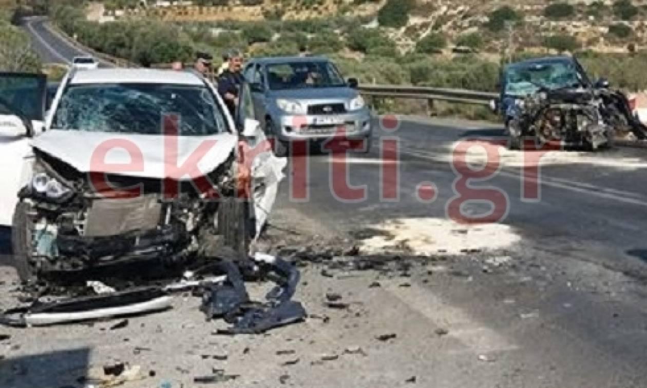Φρικτό τροχαίο στην Κρήτη με έξι τραυματίες: Ανάμεσά τους παιδιά – Εικόνες σοκ