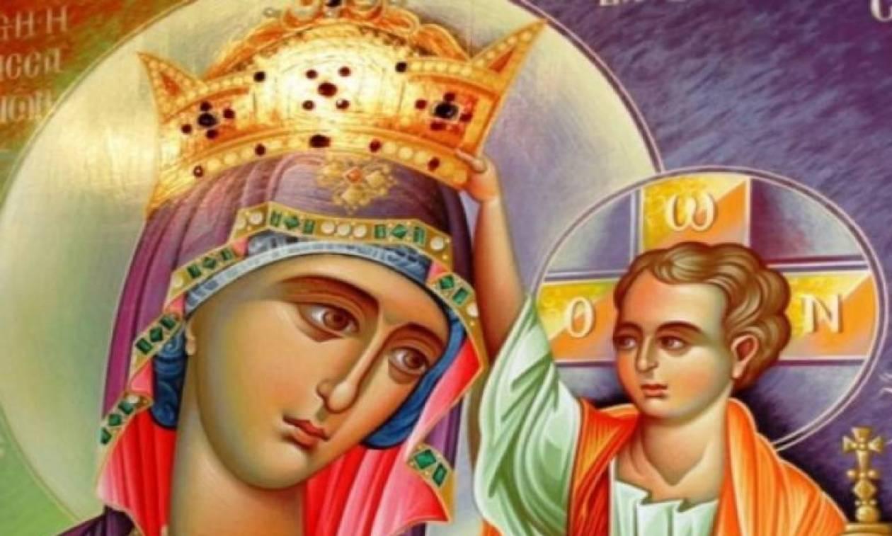 Εικόνα της Παναγίας δακρύζει σε σπίτι Τούρκου!
