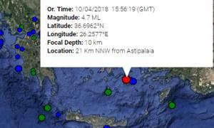 Σεισμός Κυκλάδες: Τι λένε οι σεισμολόγοι για τη δόνηση μεταξύ Αστυπάλαιας και Αμοργού