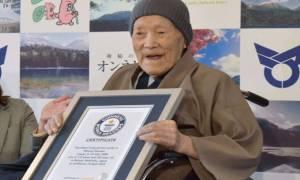Και με πιστοποίηση… Γκίνες! Αυτός είναι πλέον ο γηραιότερος άνδρας στον κόσμο (video+pics)