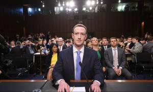 Facebook: Ολοκληρώθηκε η «ανάκριση» του Μαρκ Ζούκερμπεργκ από το Κογκρέσο (vid)