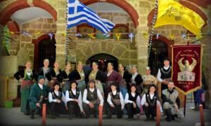 Εορτασμός της Ευξείνου Λέσχης Χαρίεσσας και συμμετοχή στις πανηγυρικές εκδηλώσεις της Ζωοδόχου Πηγής