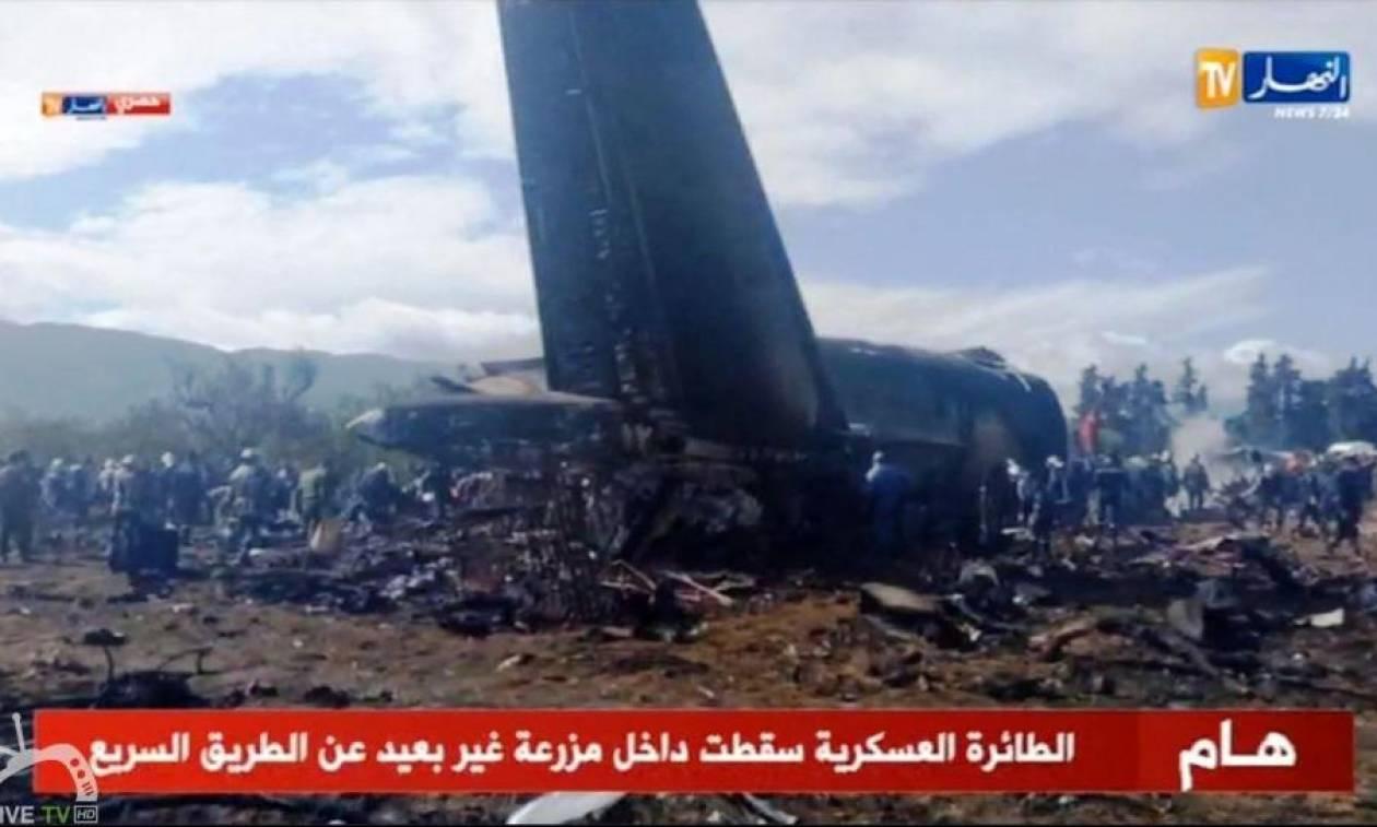 Θρήνος στην Αλγερία: Τουλάχιστον 181 οι νεκροί από τη συντριβή του στρατιωτικού αεροσκάφους