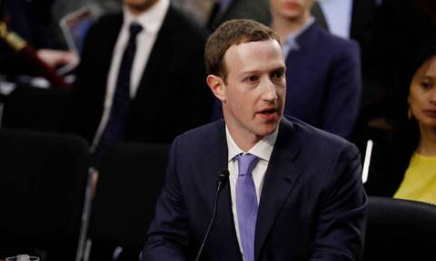 """Zuckerberg: Facebook is in """"arms race"""" with Russia"""