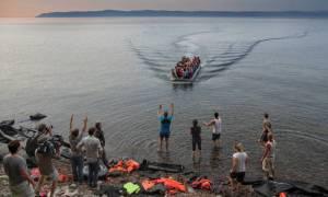 Συνεχίζονται οι προσφυγικές ροές στα νησιά του βορείου Αιγαίου